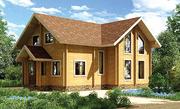 Одноэтажные дома из бруса и оцилиндрованного бревна